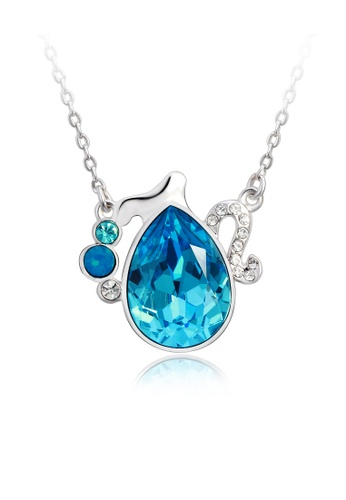 OUXI blue OUXI Aquarius Necklace OU821AC83JHKMY_1