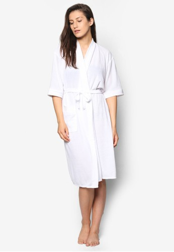 White Swim Robe, 韓系時尚, 梳esprit 兼職妝