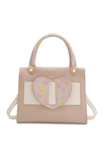 PLAYBOY BUNNY brown Women's Sling Bag / Shoulder Bag / Crossbody Bag 5EB5EAC1657138GS_1