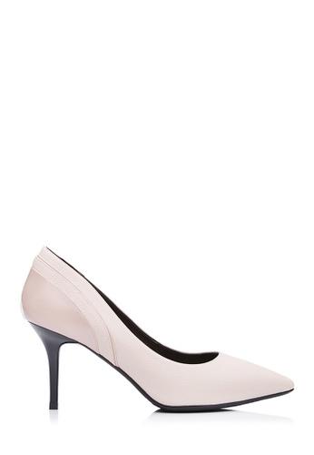 BONIA beige Women Medium Beige Patent Pumps 35761SH22755DDGS_1