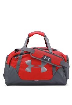 5e177924e2c6 Under Armour grey and red UA Undeniable Duffel 3.0 Bag UN337AC0RAOWMY 1
