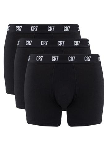 CR7 black CR7 Basic 3 Pack Trunk 4974FUS3C24D4FGS_1