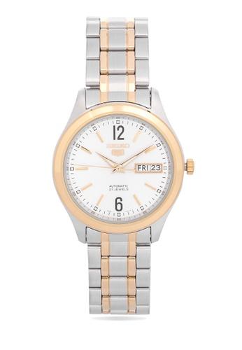 Seiko silver Analog Watch SNKM58K1 SE746AC40KEHPH_1