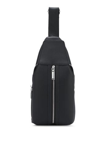 ZALORA black Small Zip Detail Shoulder Bag 8F28BZZC16304EGS_1