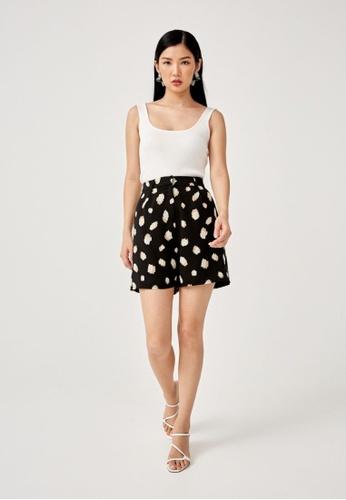 Love, Bonito black Dulcie Tailored Shorts 7C9DDAAA173811GS_1