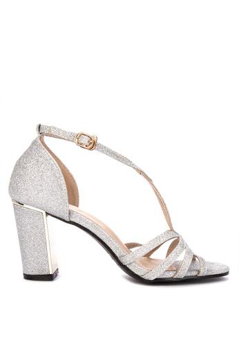 2dddde30ab Shop Rock&Rose Strappy Block Heel Sandals Online on ZALORA Philippines
