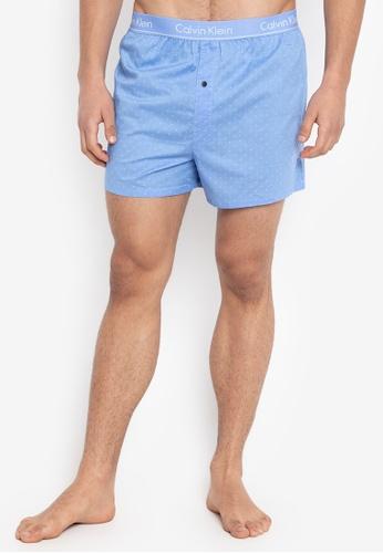 Calvin Klein blue Basic Boxer Slim Fit 249ADUSB763DCEGS_1