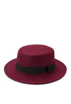 Flat Top Felt Hat