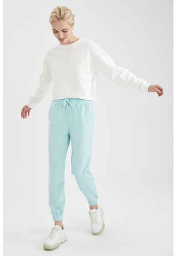 DeFacto green Lace-up High Waist Jogger 0C9F8AAB57FFBFGS_1