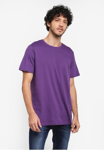 Cotton On purple Essential Crew Tee 3E773AA93E51CEGS_1