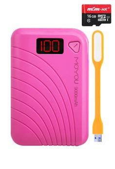 Moyou 9000mAh Powerbank With FREE 16GB MICRO-SD CARD Class 10