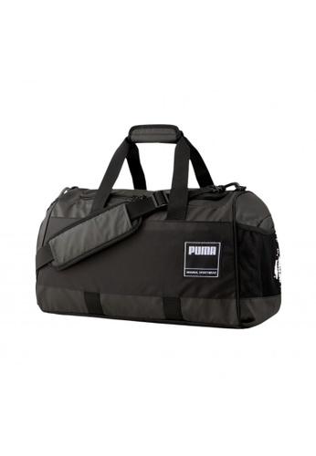 PUMA black Medium Gym Duffle Bag C22E5ACB46B398GS_1