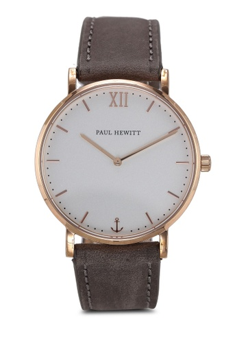 Paul Hewitt grey Sailor Line White Sand IP Watch 5BC48AC8E3BA18GS_1