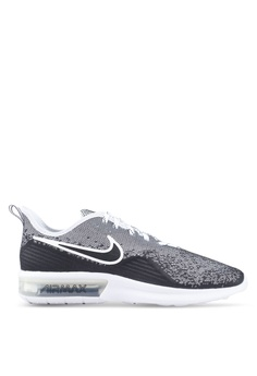 the best attitude 33dbb 566b7 Nike black Nike Air Max Sequent 4 Shoes 55AF6SH1D585F0GS1