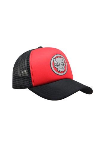 Snapback red Snapback Trucker Dewasa Black Red 2 Black Panther 1C312AC7EC91ADGS_1