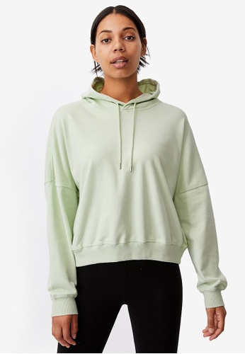 Cotton On green Your Favourite Hoodie F82B3AA5550968GS_1