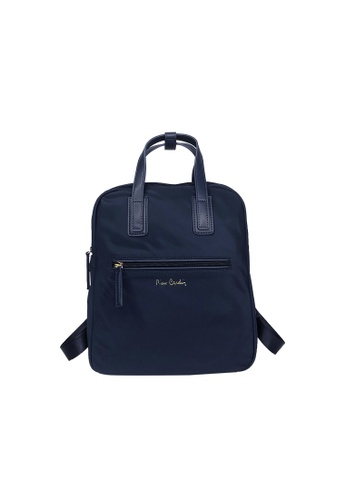 Pierre Cardin navy Pierre Cardin Premium Medium Backpack 1FAF3AC0EDBE44GS_1