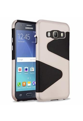 official photos 2d775 fcf2c Tough Slim Fit Hybrid Case for Samsung Galaxy J710 (2016)