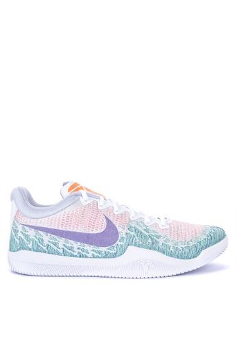 Nike white Men's Nike Mamba Rage Basketball Shoes A1E3BSH93C8865GS_1