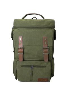 Open Top Canvas Laptop Bag
