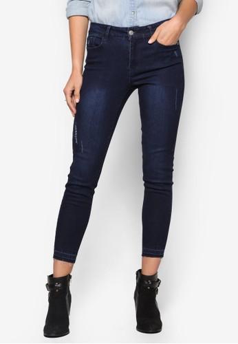 Colleesprit holdingsction 丹寧窄管長褲, 服飾, 服飾