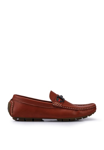 Louis Cuppers brown Louis Cuppers Loafers, Moccasins & Boat Shoes 5EE0ESHE4FC94CGS_1