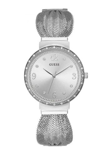Guess Watch silver Guess Chiffon Silver Mesh Watch AA07CAC027A8F7GS_1