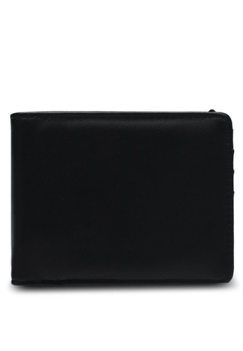 MANGO Man black Pebbled Wallet 5AFE0AC669D7C6GS_1