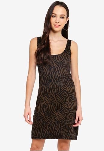 Cotton On black Mac Thick Strap Pinafore Mini Dress 6C5B4AA8FB5BA6GS_1