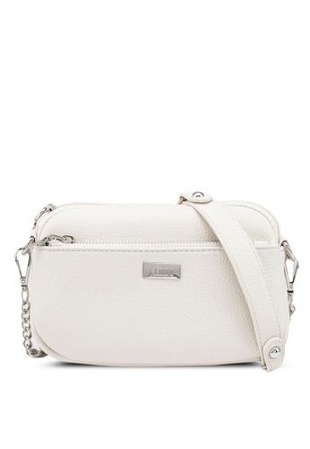 Keddo white Avery Crossbody Bag B6926ACA482ABAGS_1