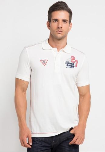 Bombboogie white Polo Shirt Bombbogie BO419AA0V6ZIID_1
