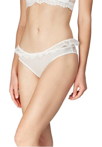 6IXTY8IGHT white JACINTA SOLID, Lace Bikini Briefs PT10030 35F5DUS61C6352GS_1