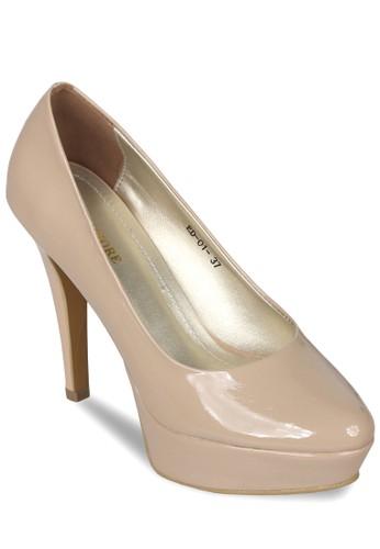 Jual CLAYMORE Sepatu High Heels ED - 01 Cream Original  f4ecb99267