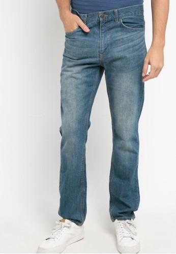 Giordano blue Denim Mid Rise Reguler Tempered Jeans 6C548AA748361DGS_1