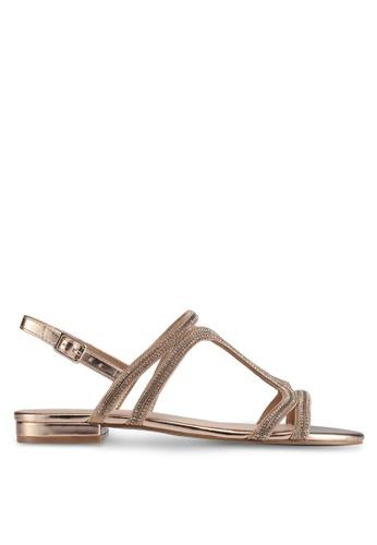 ALDO gold Asiliria Sandals 744F5SH43AA423GS_1