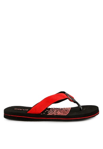 CARVIL black Carvil Sandal Sponge Man Barkley Black Red 1B9ABSHE5A123BGS_1