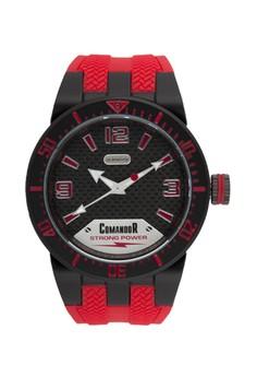Comandor C148-1-14-40 Water Resistant Sport Watch