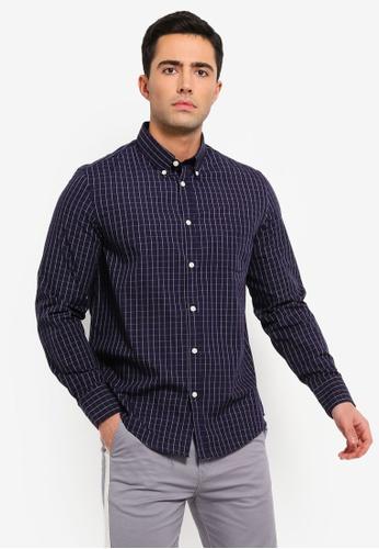 OVS 多色 Mens Formal 襯衫 With 長袖 B7A4AAA290A60CGS_1