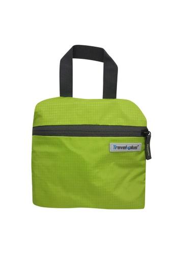 Travel Plus green Lightly Folding Backpack 9EEF5ACFC9B6D4GS_1
