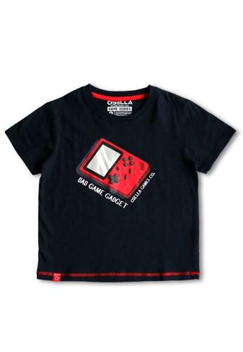 Osella Kids navy Osella Baju Anak Laki Laki Tshirt Navy D6402KAA6E2EEEGS_1