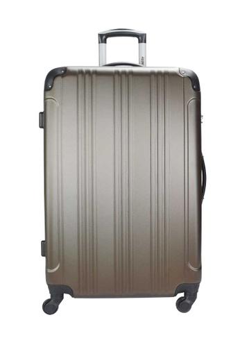 Urbanlite brown Urbanlite Echo 20 inch Spinner Hard Case Luggage -  ULH 7904 020C9ACD821EC7GS_1