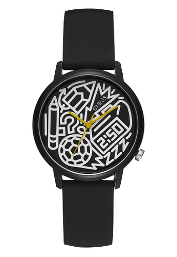 Guess Watch black Charity Watch (Pencils of Promise)-V0023M8 D1576AC11E3CCAGS_1