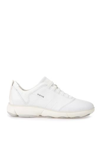 Geox white D Nebula Sneaker D6CD9SH8ADAACCGS_1