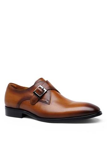 Twenty Eight Shoes Galliano復古真皮孟克皮鞋 DS892703 C046ESHAC6094BGS_1