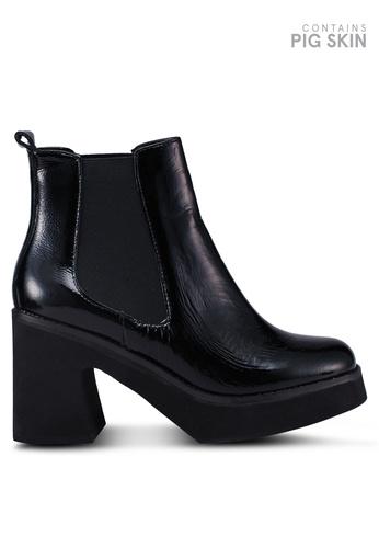 E8 by Miista 多色 漆皮高跟踝靴 AB192SH0A87588GS_1