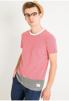 Stripe Stripes Blocked Tee