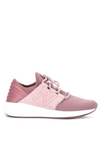 c68528ee4472a Selling women shoes New Balance Fresh Foam Cruz v1 Source · Shop New  Balance Cruz Future Sport Nubuck Shoes Online on ZALORA