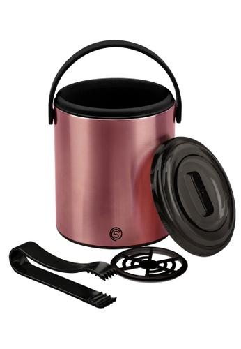 Slique pink Ice Bucket 1.6l 12CBEHL37A6446GS_1