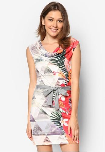 Colida 印花無袖連身裙, 服飾, 短洋zalora taiwan 時尚購物網鞋子裝
