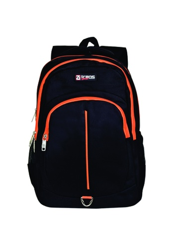 TRANSGEAR black and orange 423 Backpack D84B8ACD762307GS_1